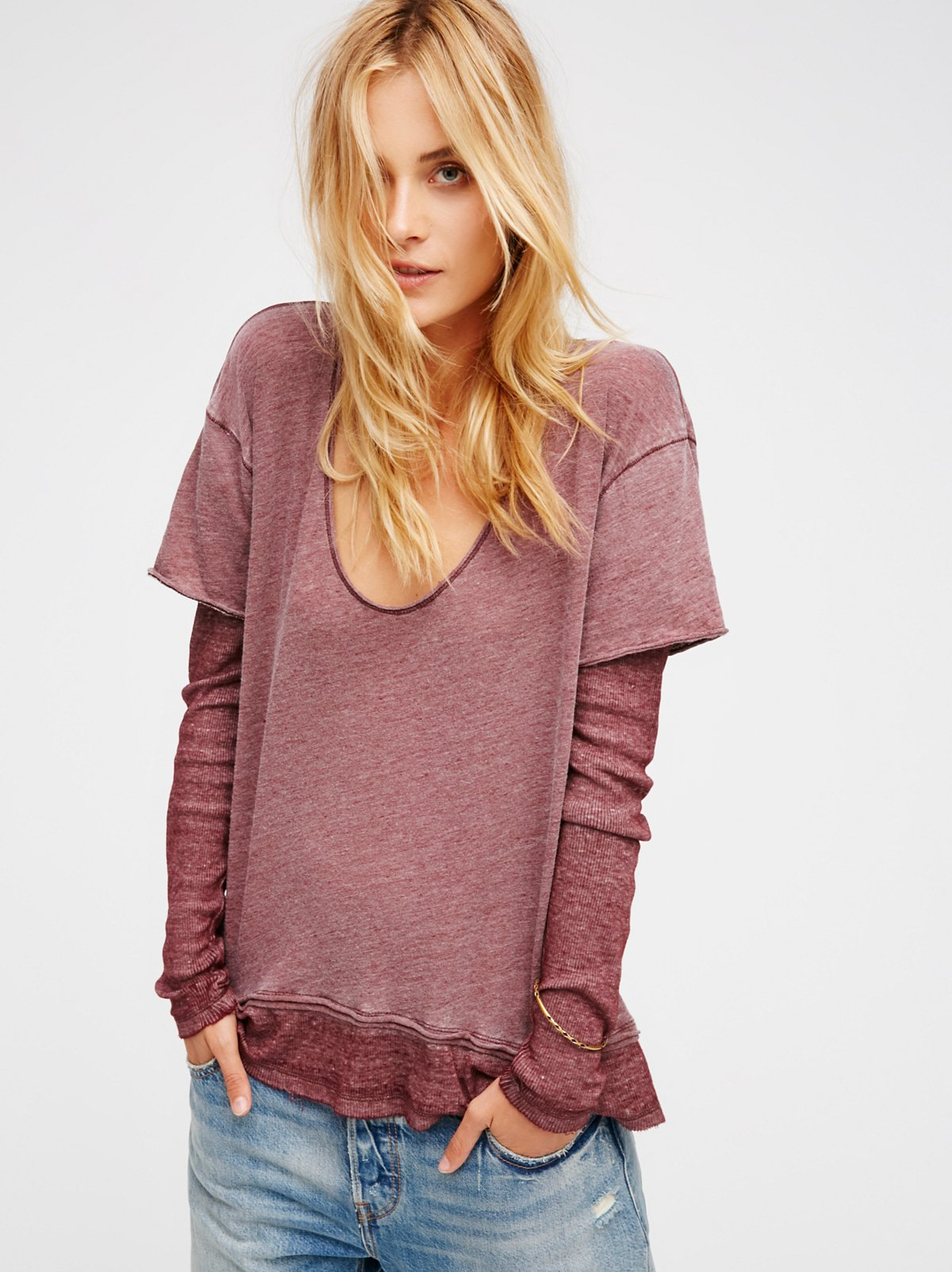 We The Free Magic Tee At Free People Clothing Boutique