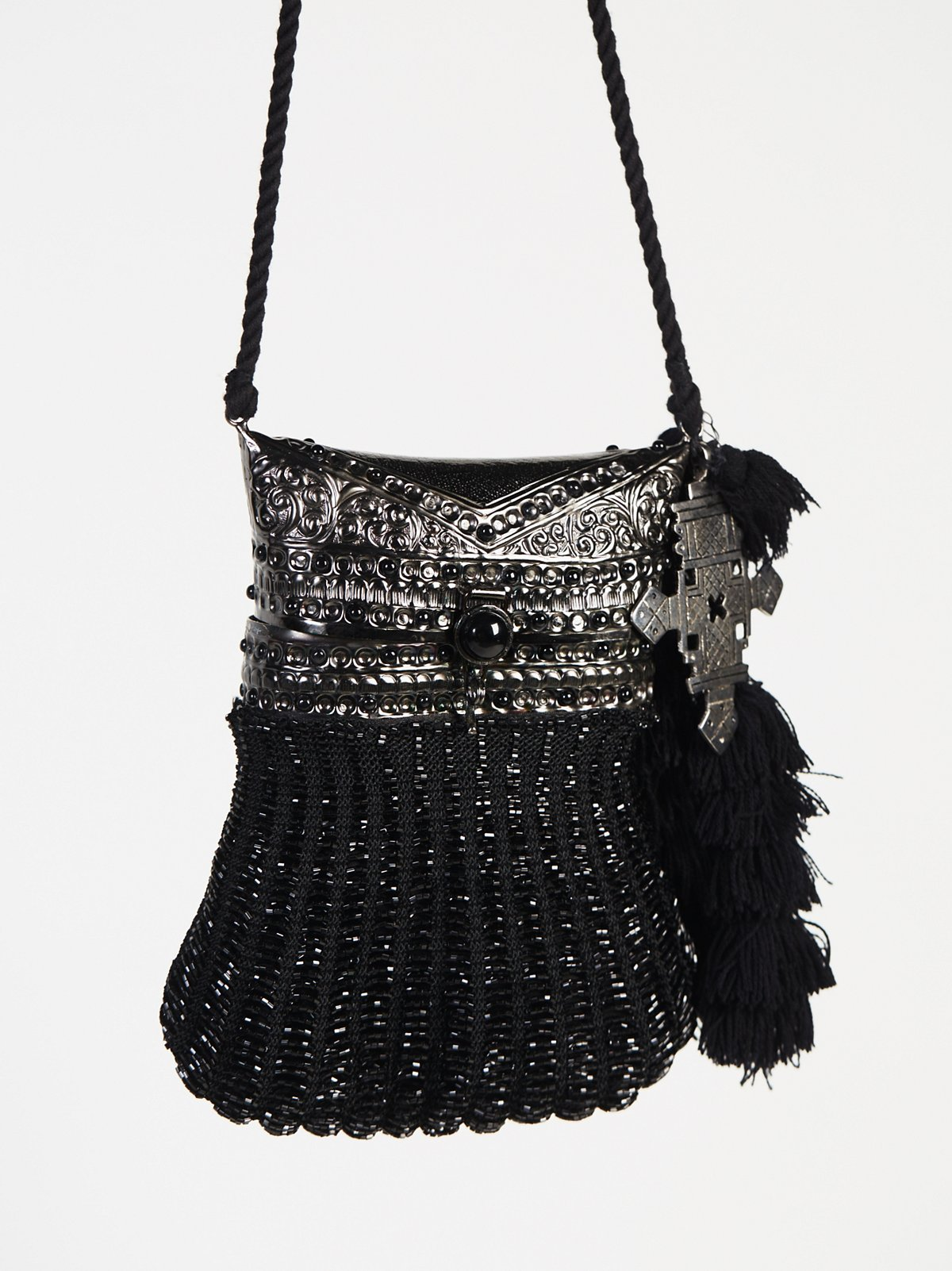 Luciana Embellished Crossbody Bag