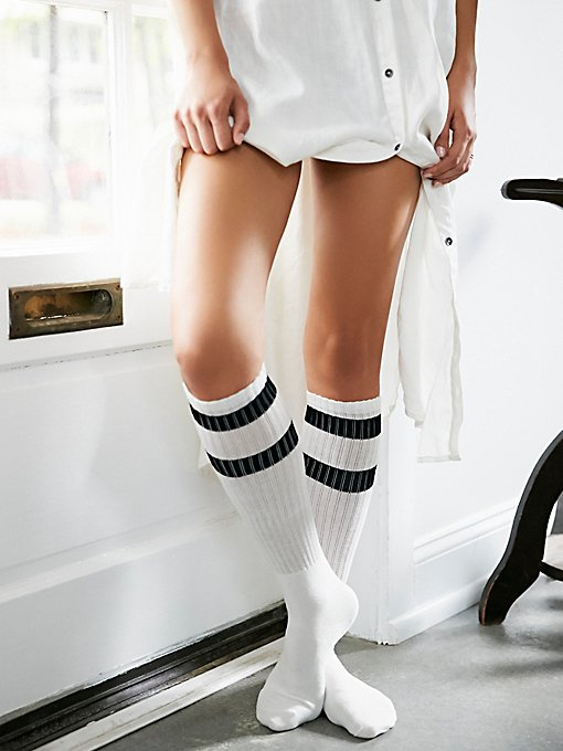 Product Image: Top Stripe Knee Sock