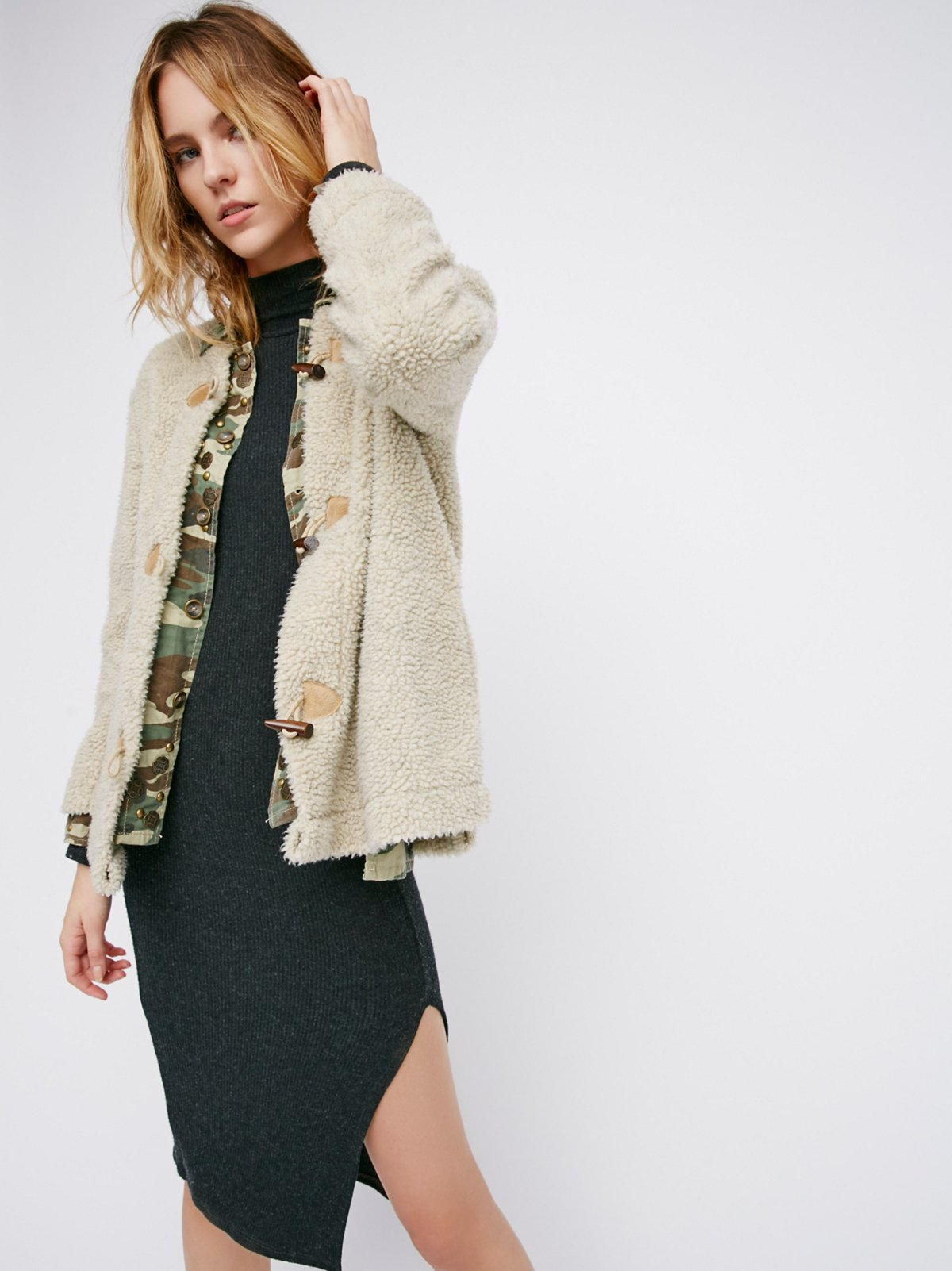 Teddy Toggle Coat