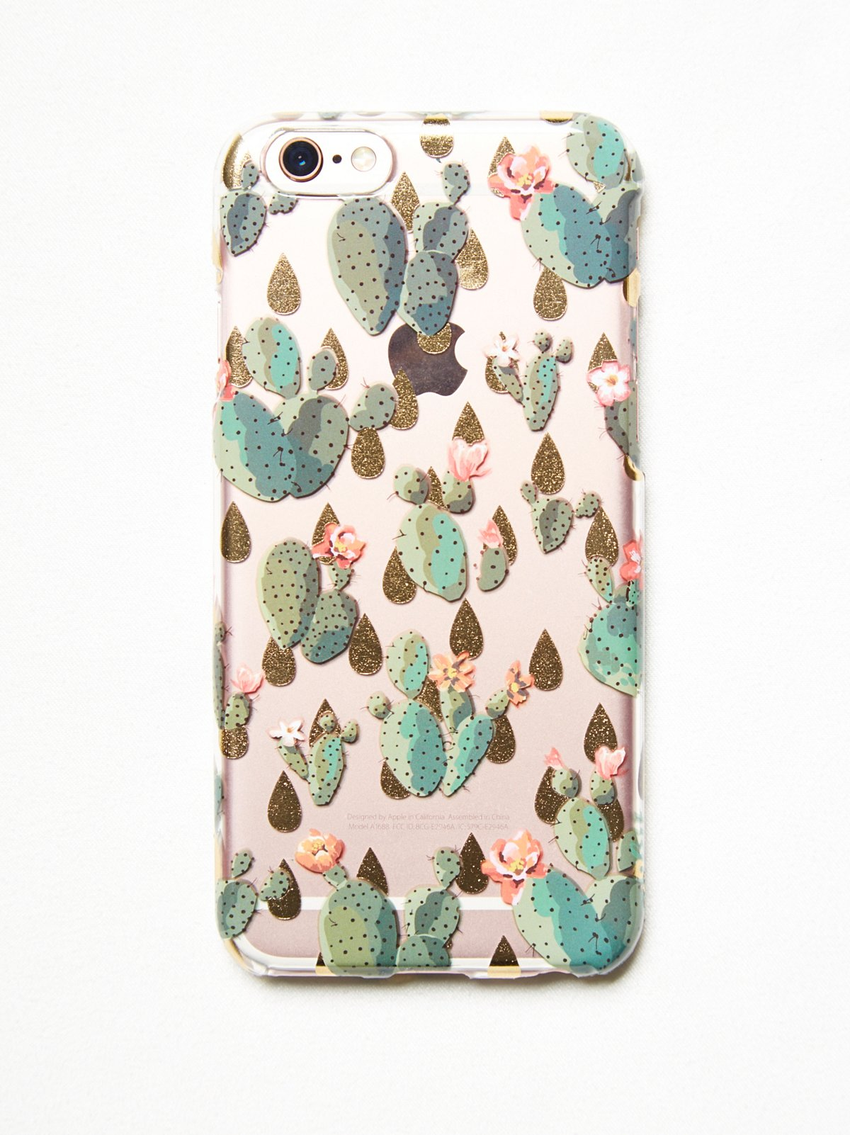 Botanical Printed iPhone Case
