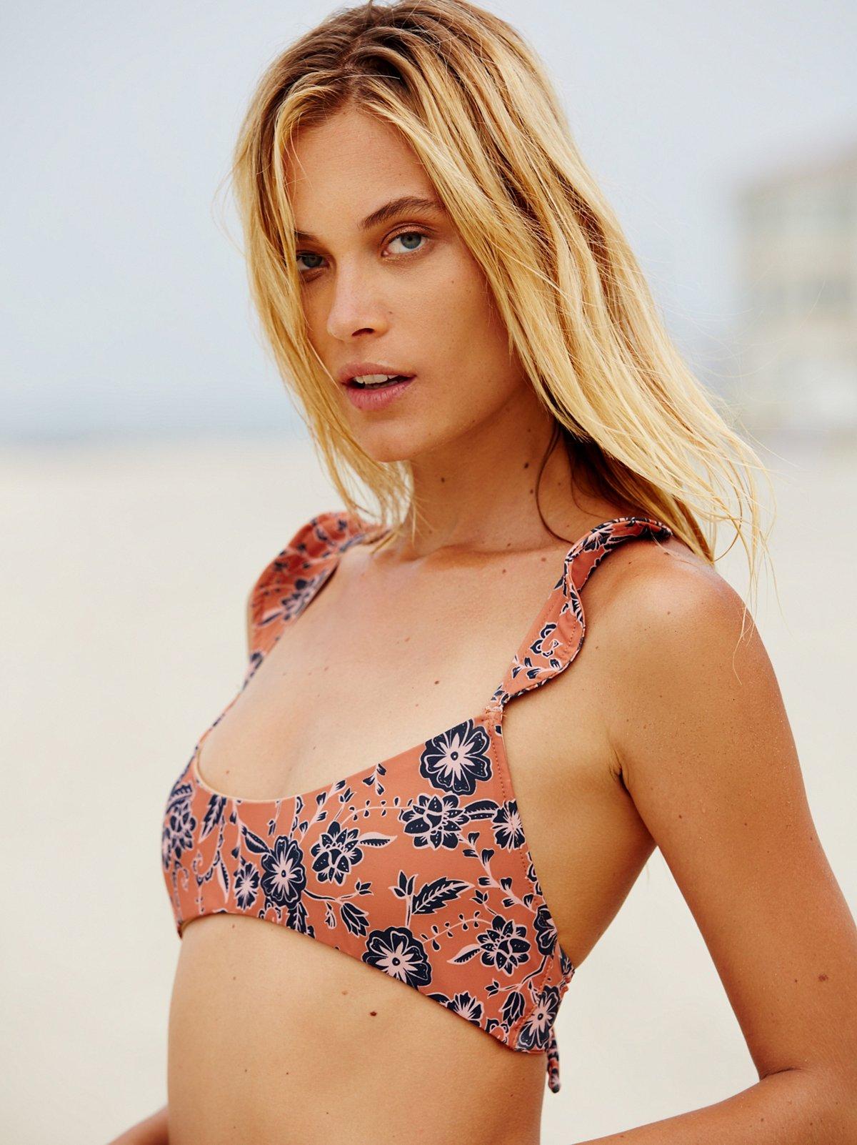 Belize Ruffle Bikini Top