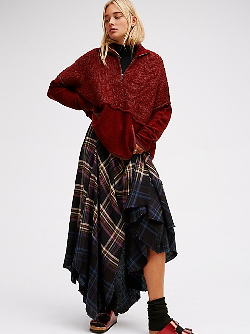 Product Image: Dipped In Dreams Plaid Maxi