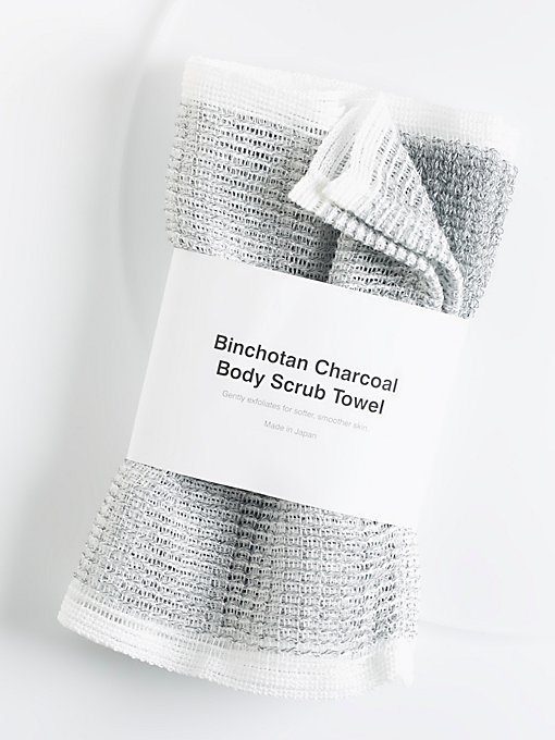 Product Image: Binchotan Charcoal Body Scrub Towel