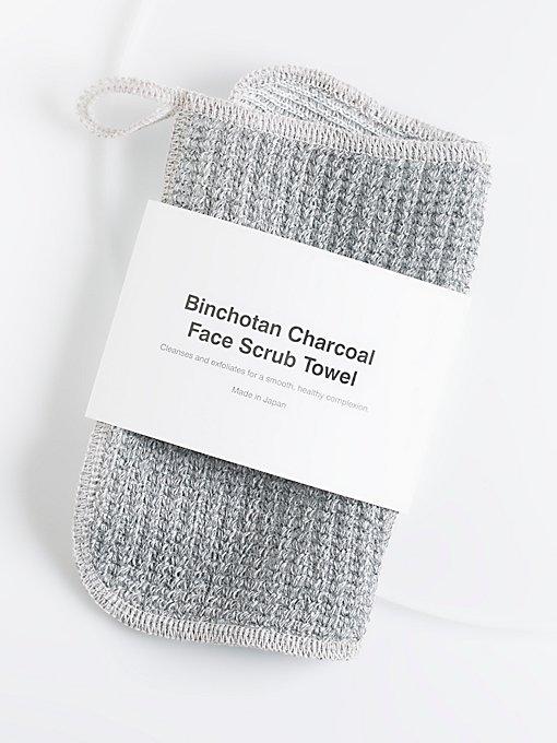 Product Image: Binchotan Charcoal Face Scrub Towel