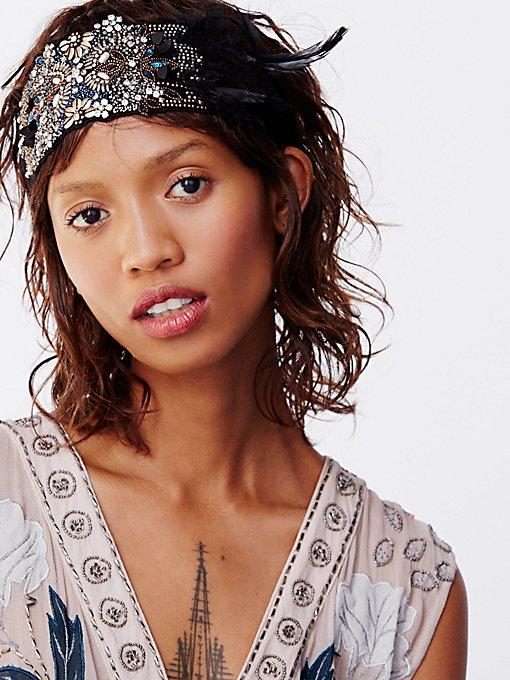 Product Image: Encrusted Feather Headband