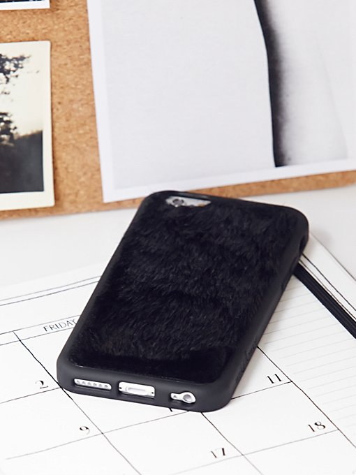 Product Image: Faux Fur iPhone 6/6s Case