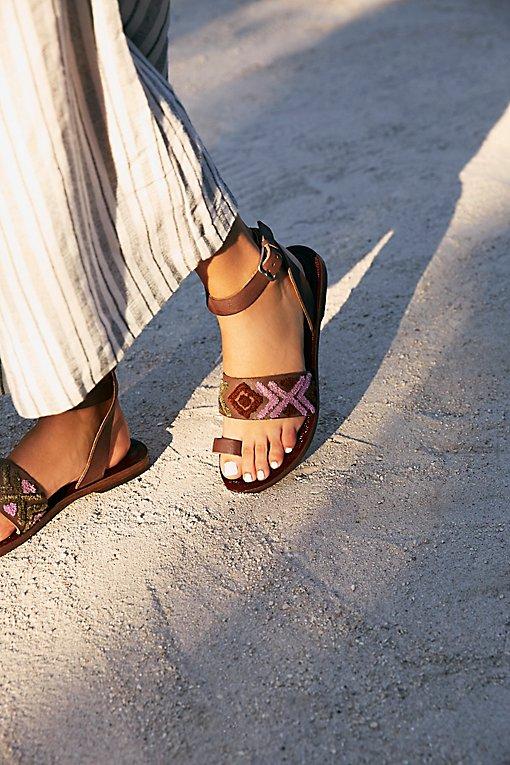Product Image: Torrence Stitch Flat Sandal