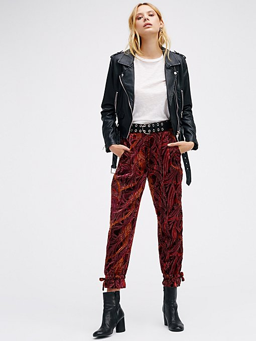 Product Image: Burnout Velvet Pants