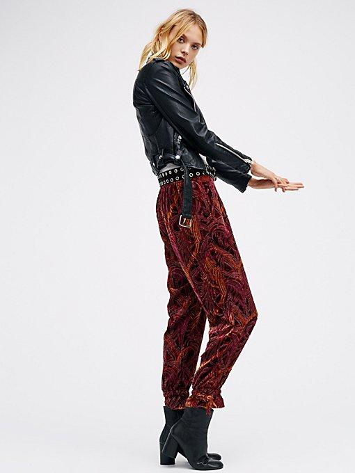 Product Image: Burnout Velvet Pants