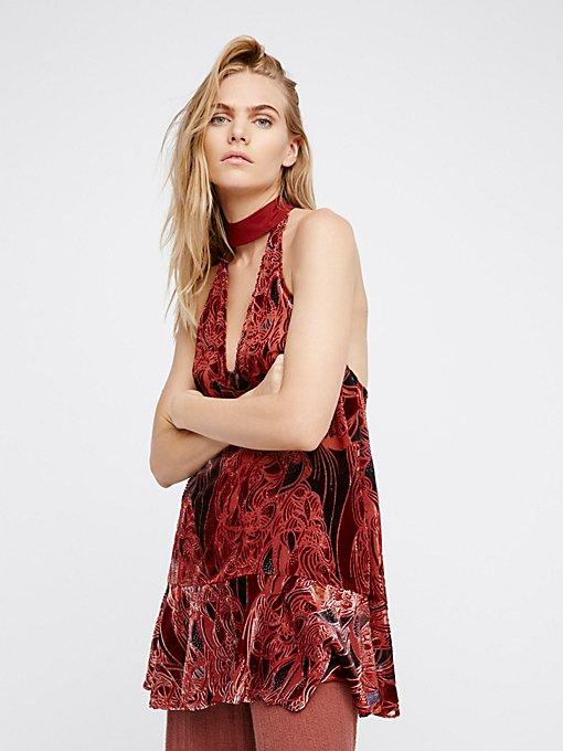 Product Image: Lady Love天鹅绒裙衫