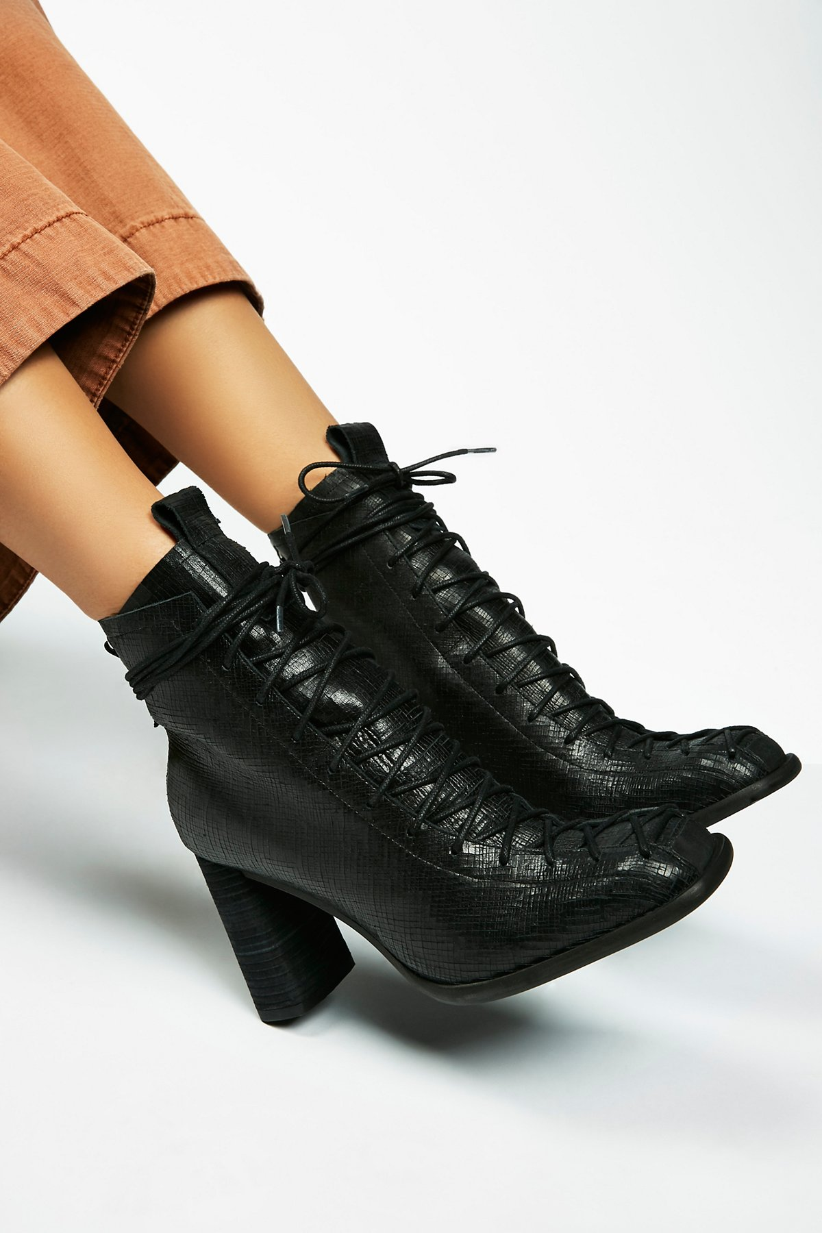 Collectible Heel Boot