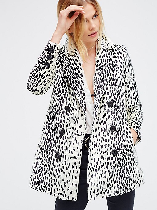 Product Image: Leopard Print Fur Coat