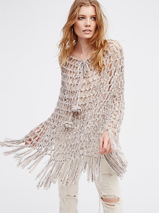 Product Image: Heart & Soul Hand Knit Poncho