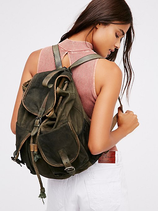 Product Image: Washed Canvas Backpack