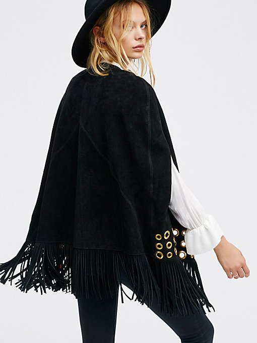 Product Image: Backstage Suede Cape