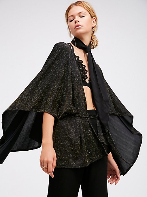 Product Image: Sparkle & Shine Kimono Cape