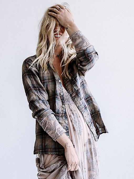 Product Image: Plaid Linen Shirt
