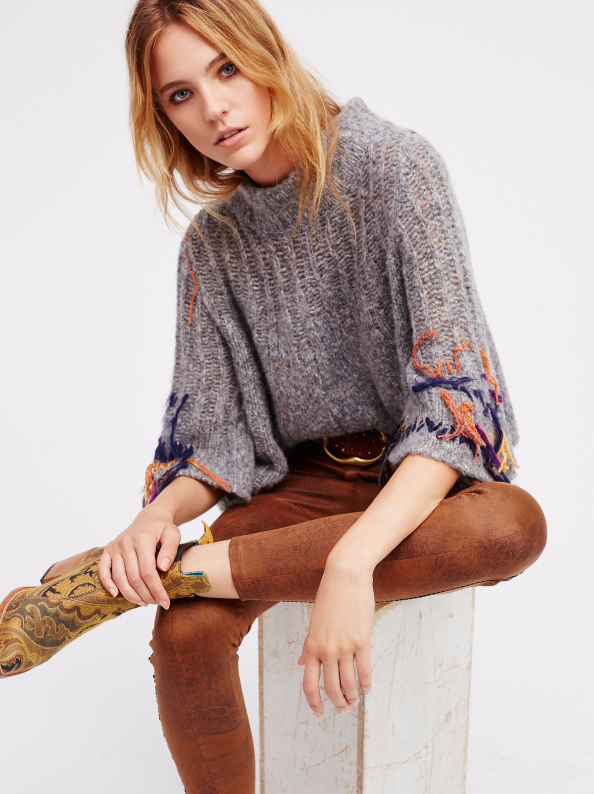 Touch Of Fringe Pullover