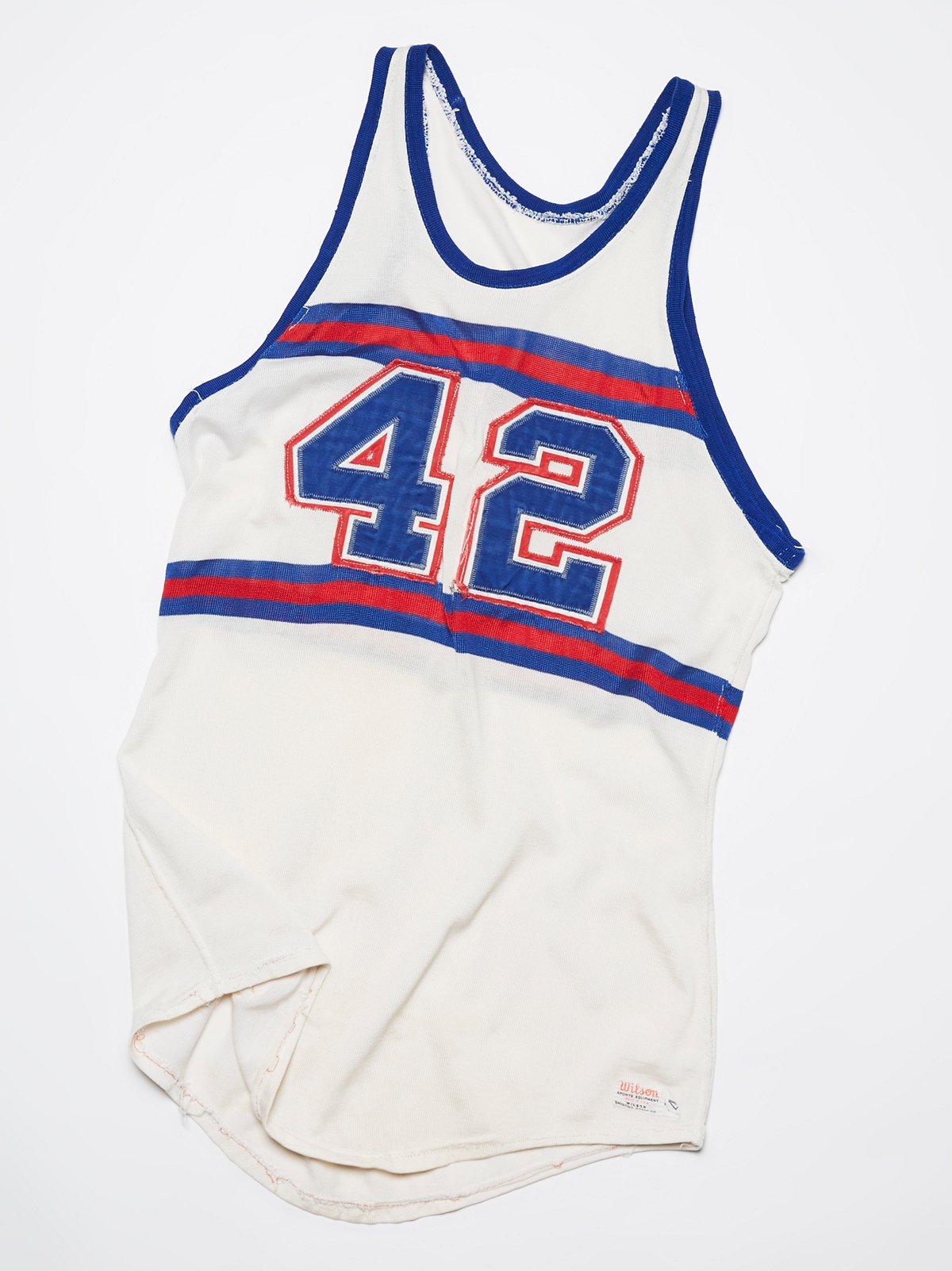 Vintage 1960s #42 Jersey