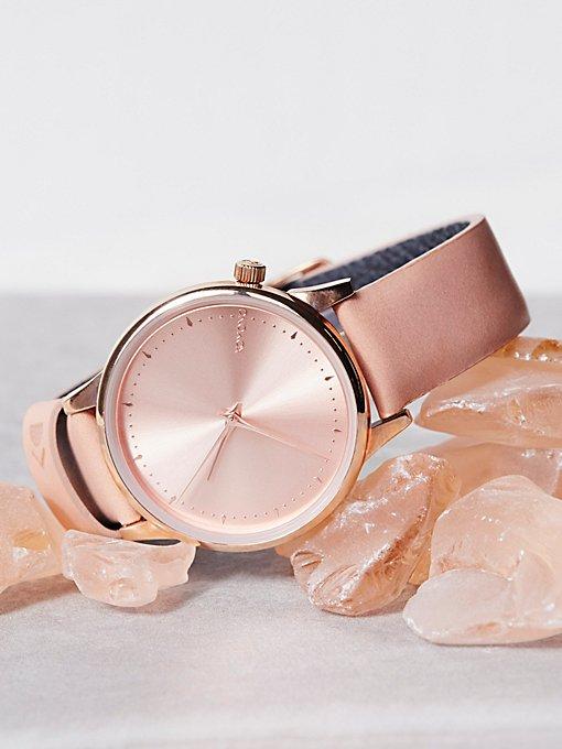 Product Image: Estelle真皮表带腕表