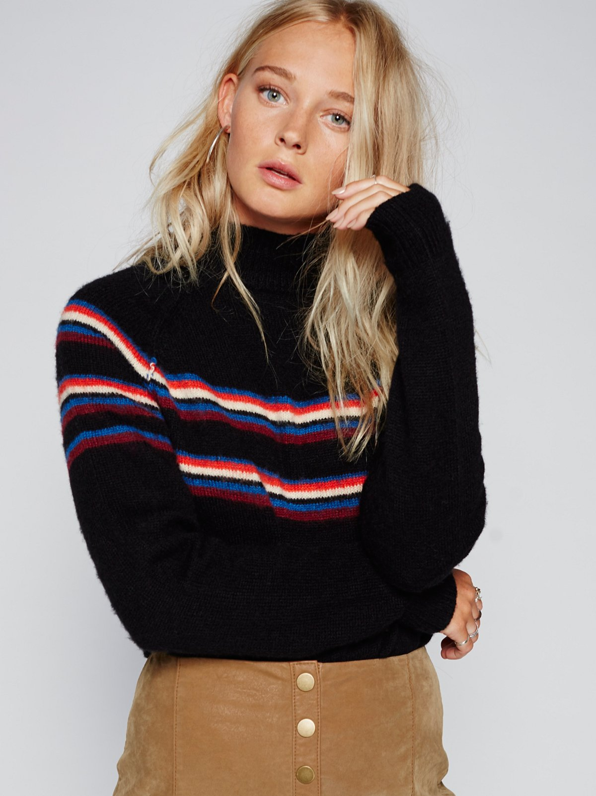 Love Me Stripe Pullover
