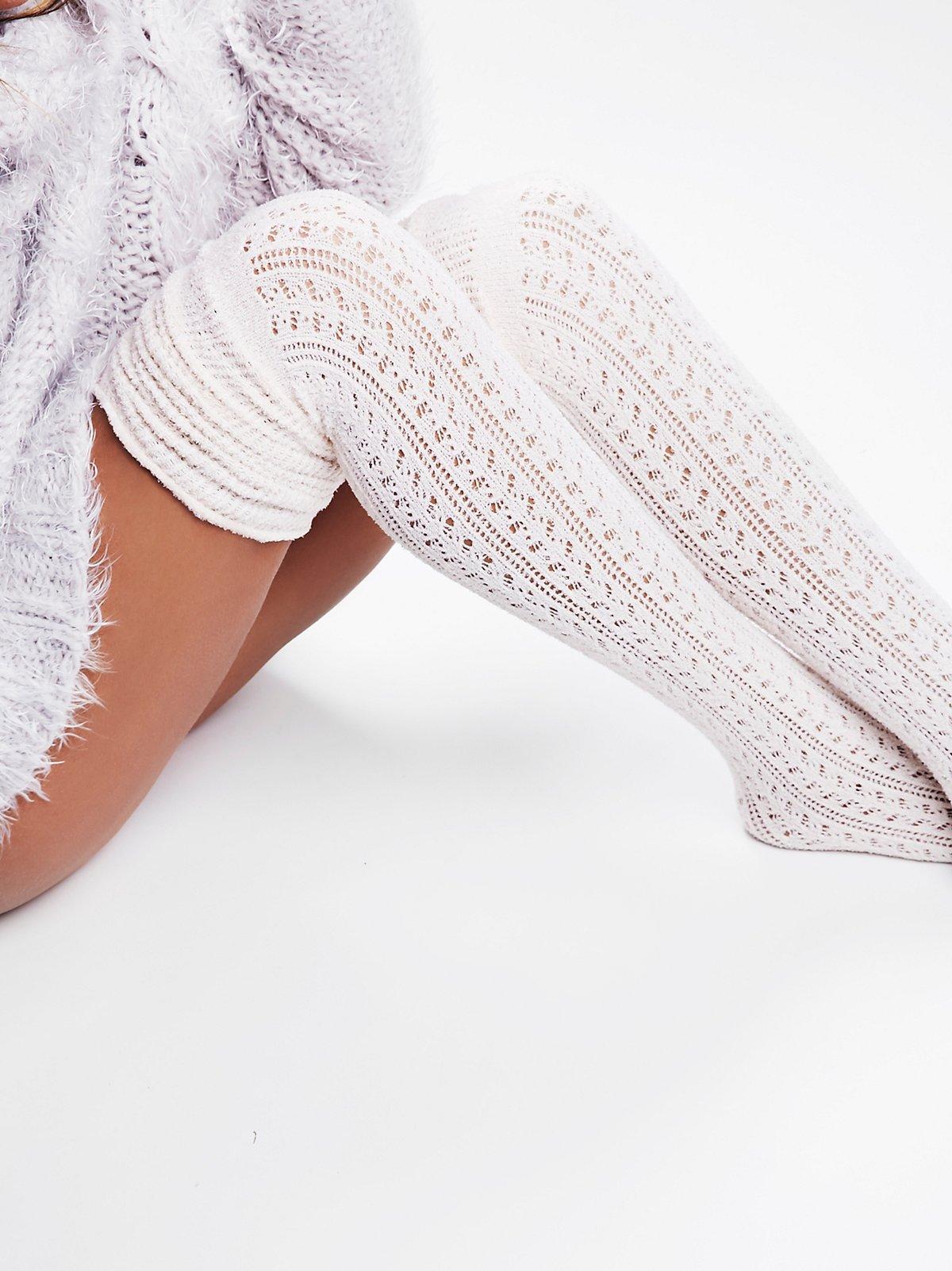 Beaux Pointelle Sock