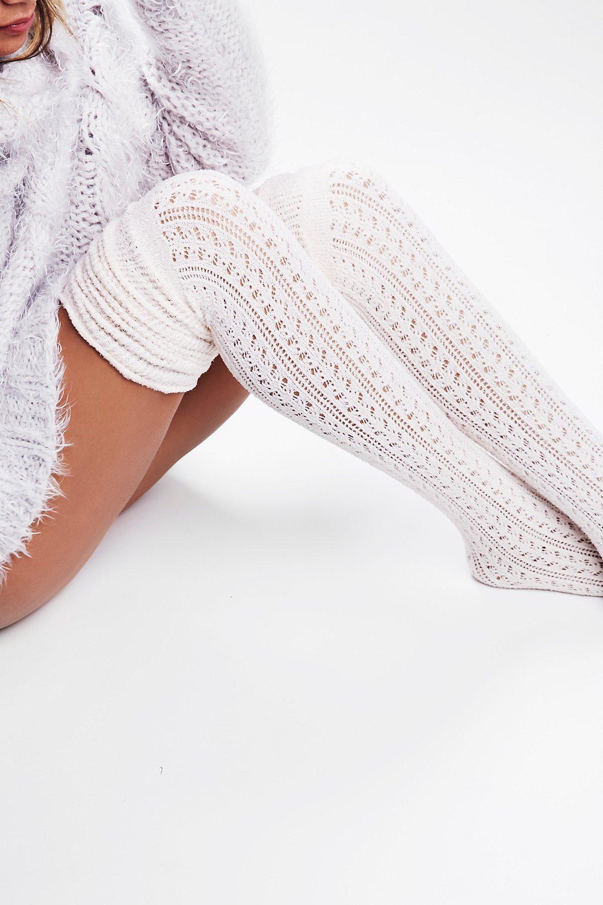 Beaux网眼袜