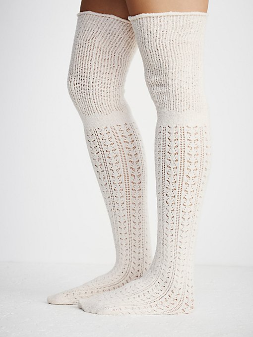 Product Image: Beaux Pointelle Sock