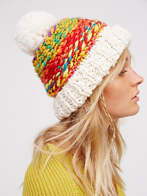 Product Image: Candy Land Pom Beanie