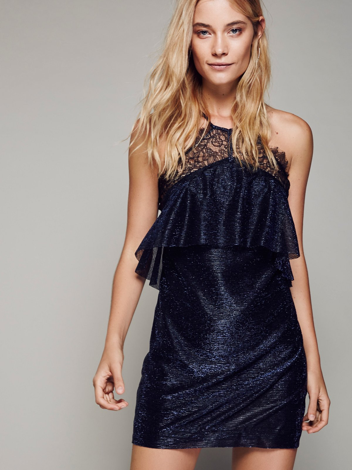 Night Sky Mini Dress