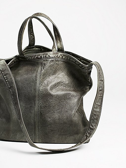 Product Image: 简约皮革手提包