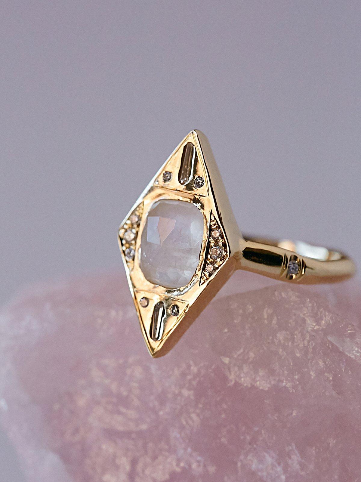 14k Envy钻石戒指