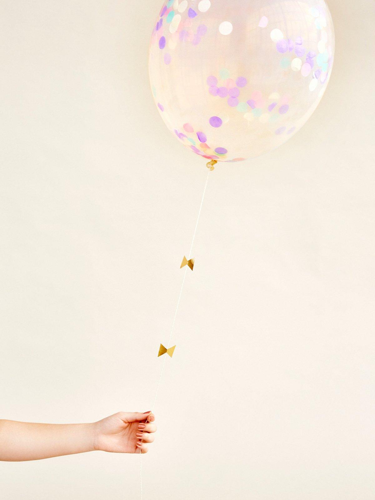 Pastel Confetti Jumbo Balloon