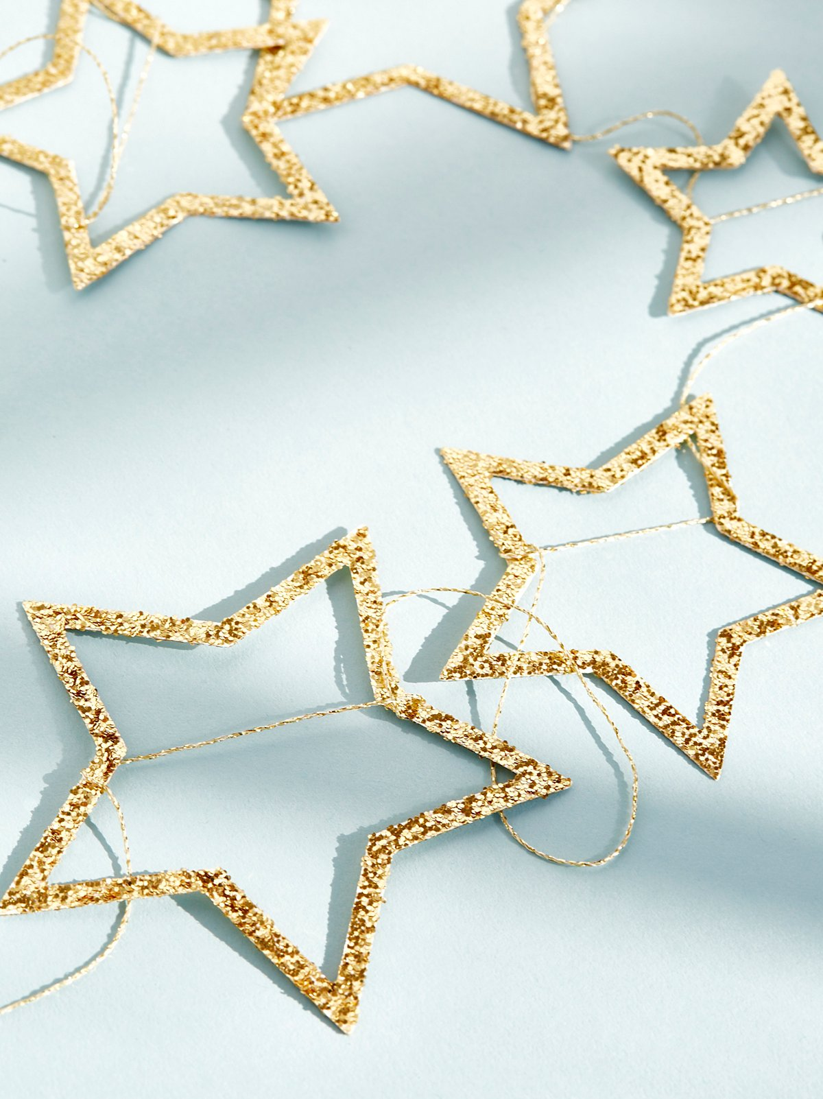 Glitter Star Party Garland