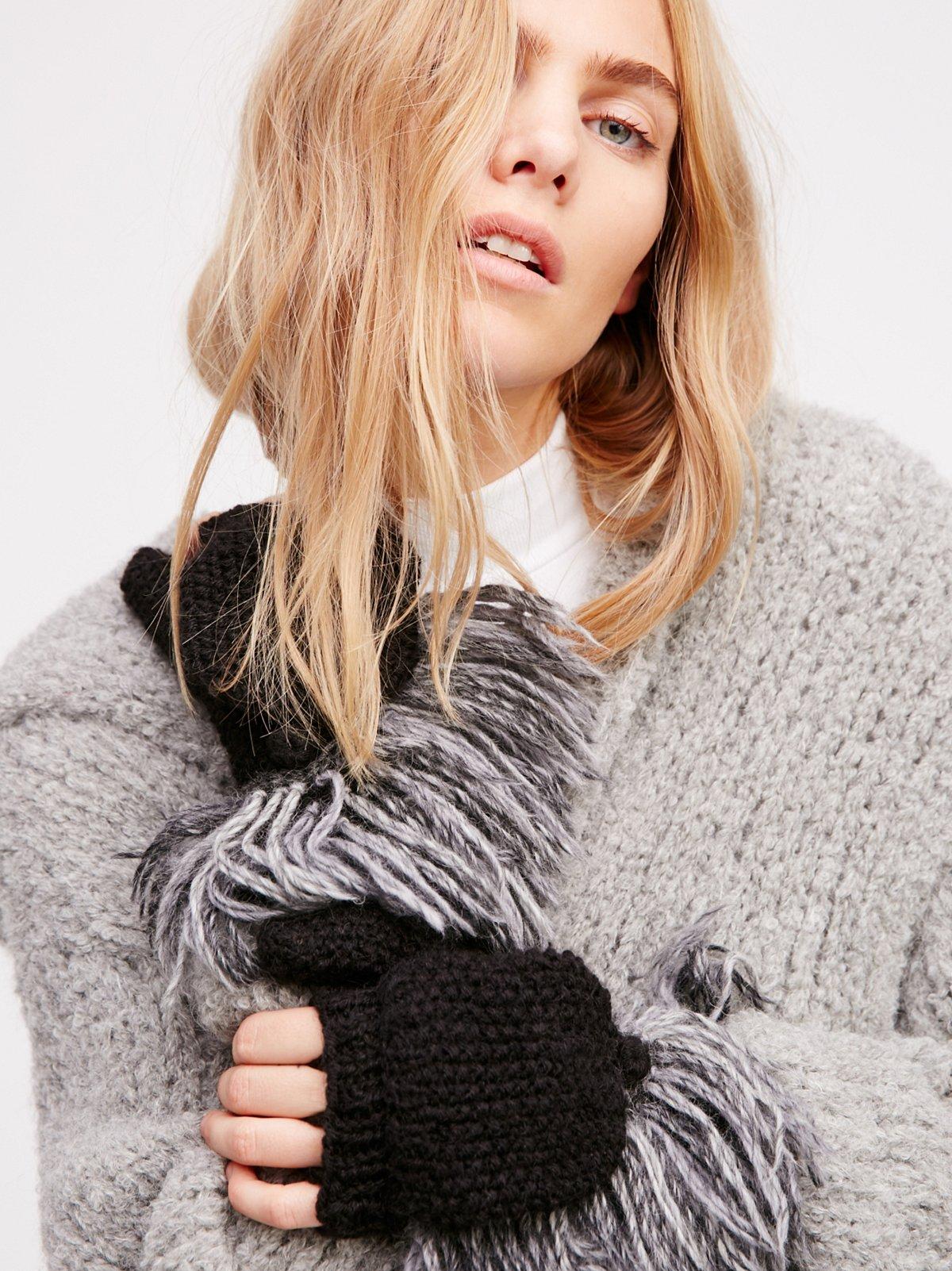 Stella Fringed Pop-Top Glove