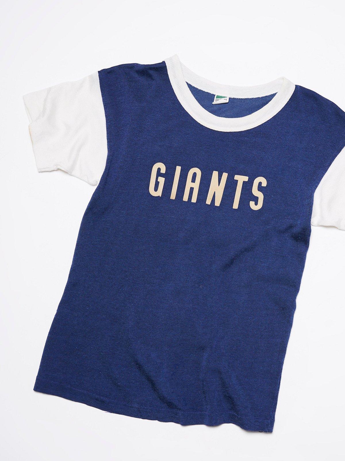 Vintage 1950s Giants Jersey