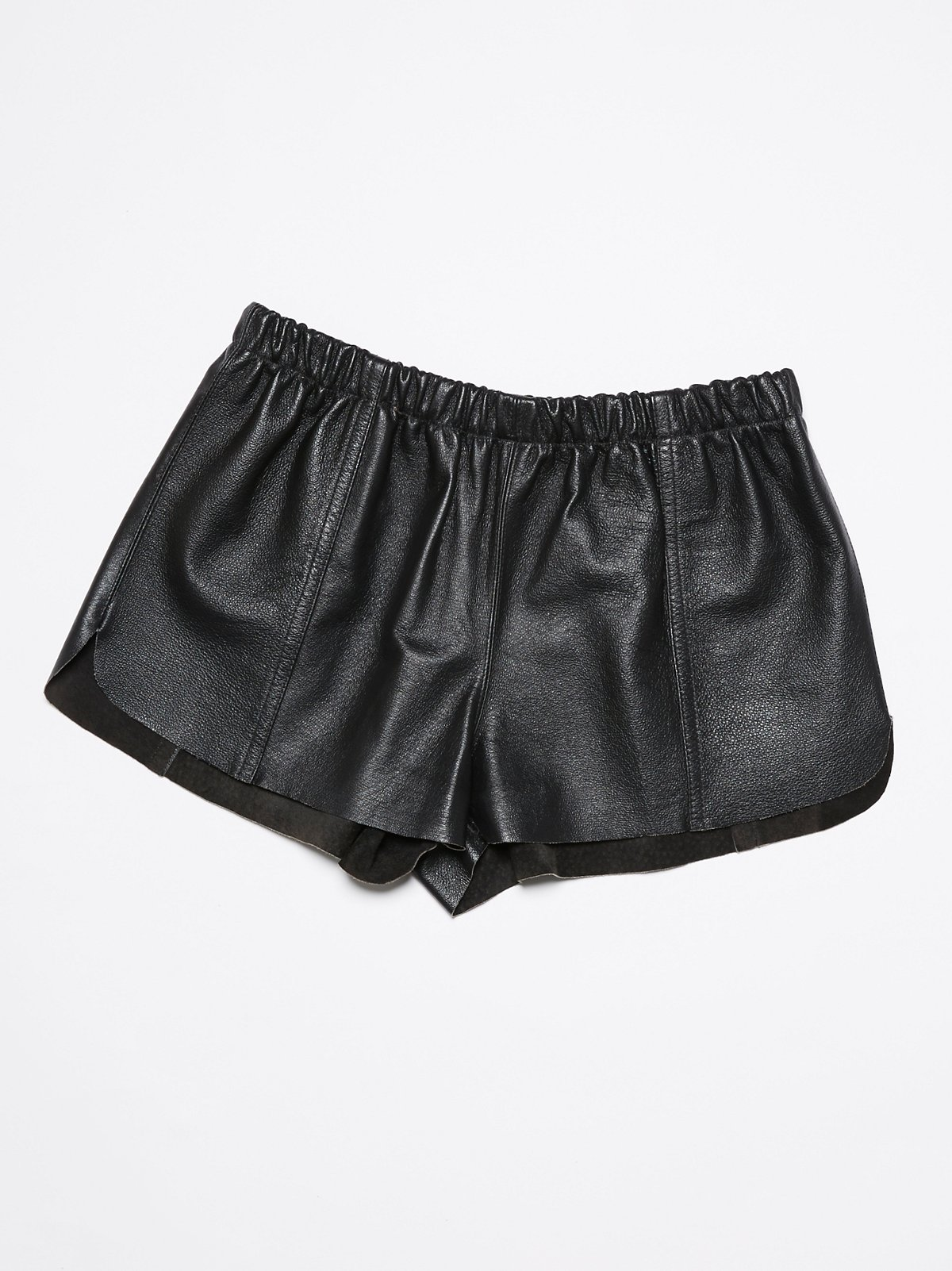 Vintage 1980s Leather Shorts