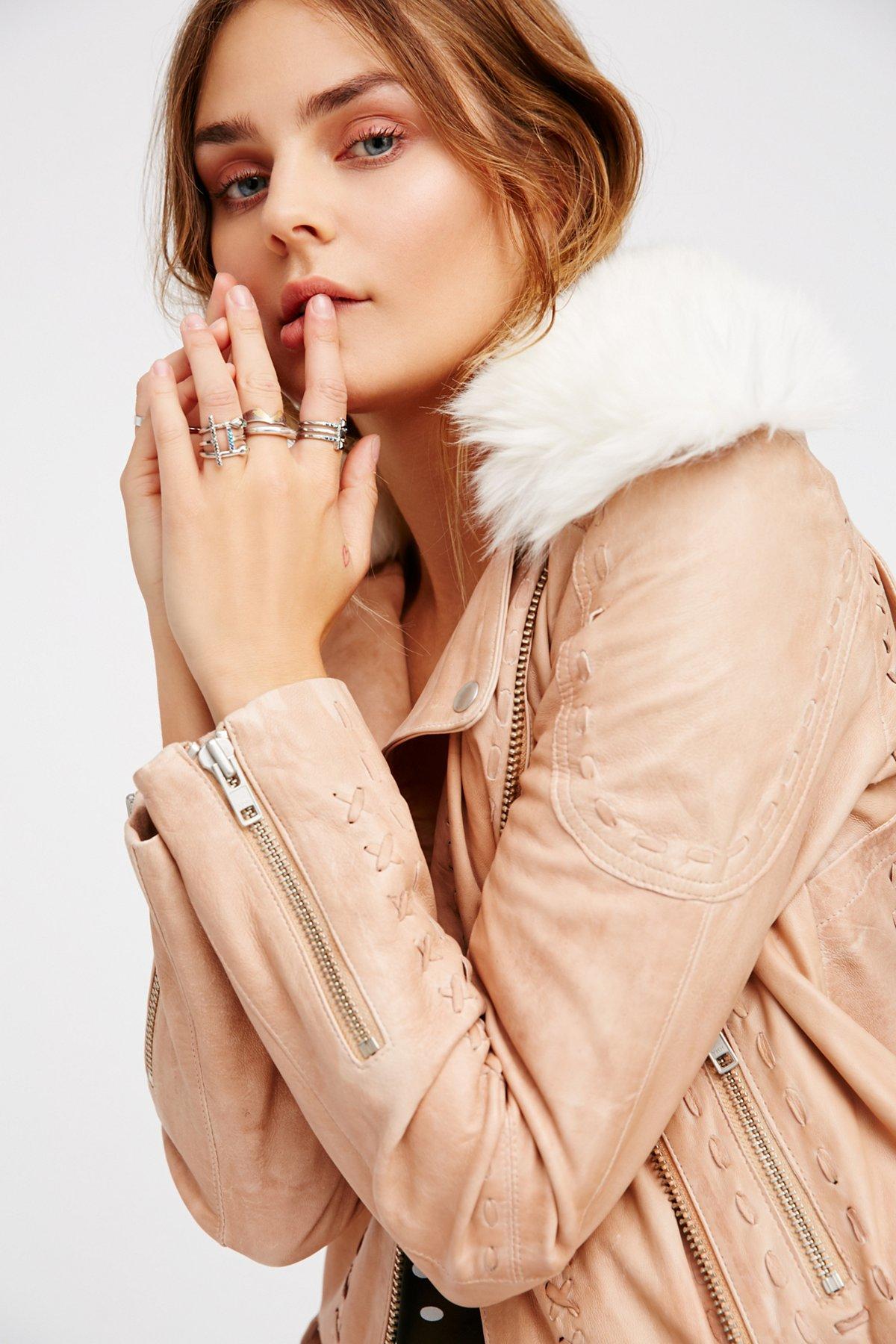 Wild Imagination Leather Jacket