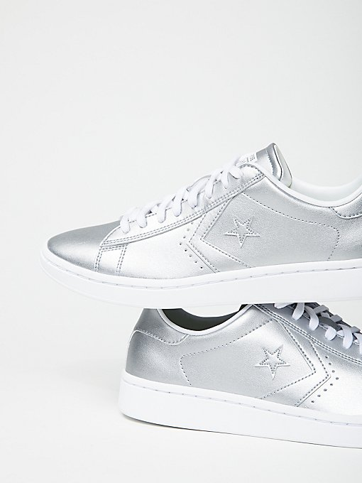 Product Image: Metallic Leather Low Tops