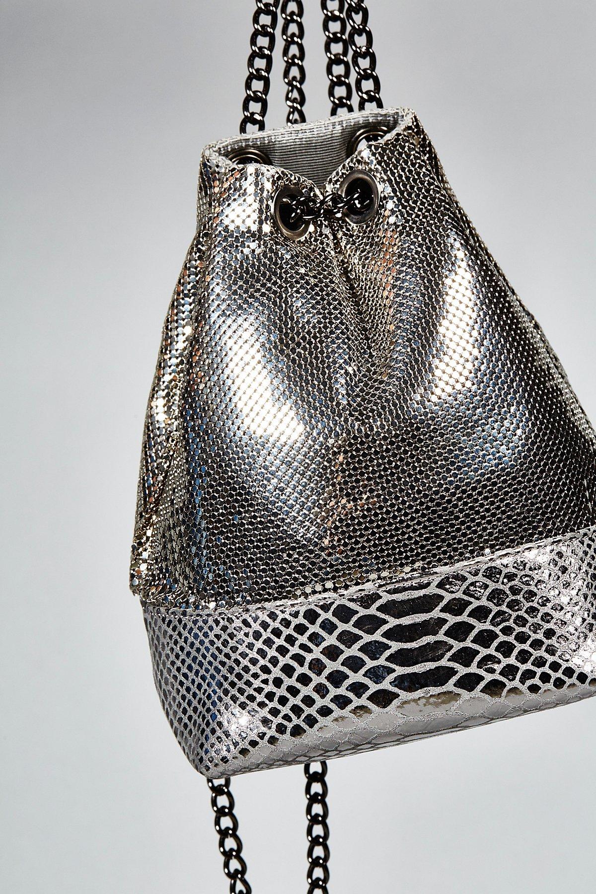 Chainmail Mini Backpack