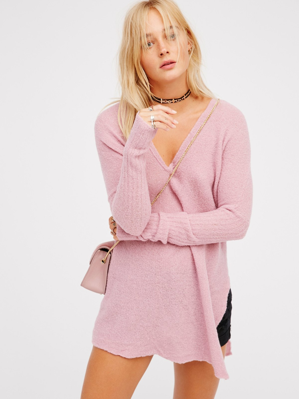 Cloud Surfing Cashmere Pullover