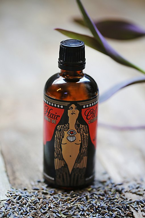Product Image: Lavender + Clary Sage Hair Oil