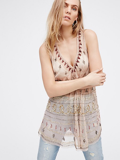 Product Image: Embellished Shirt Tail Slip