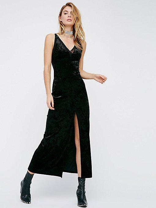 Product Image: Belle Epoch Velvet Maxi Slip