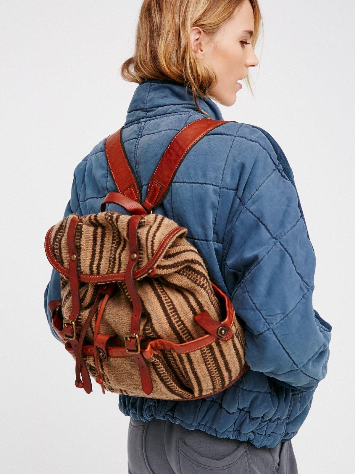 Pierre Distressed Backpack