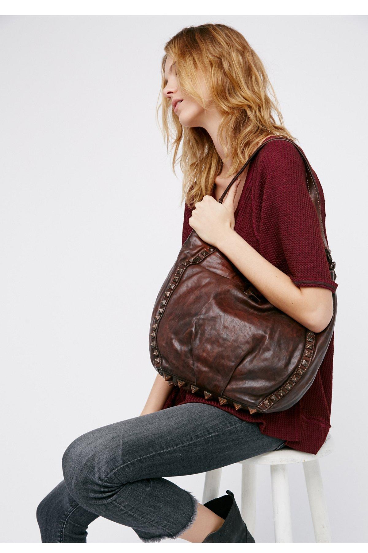 Delphina做旧手提包