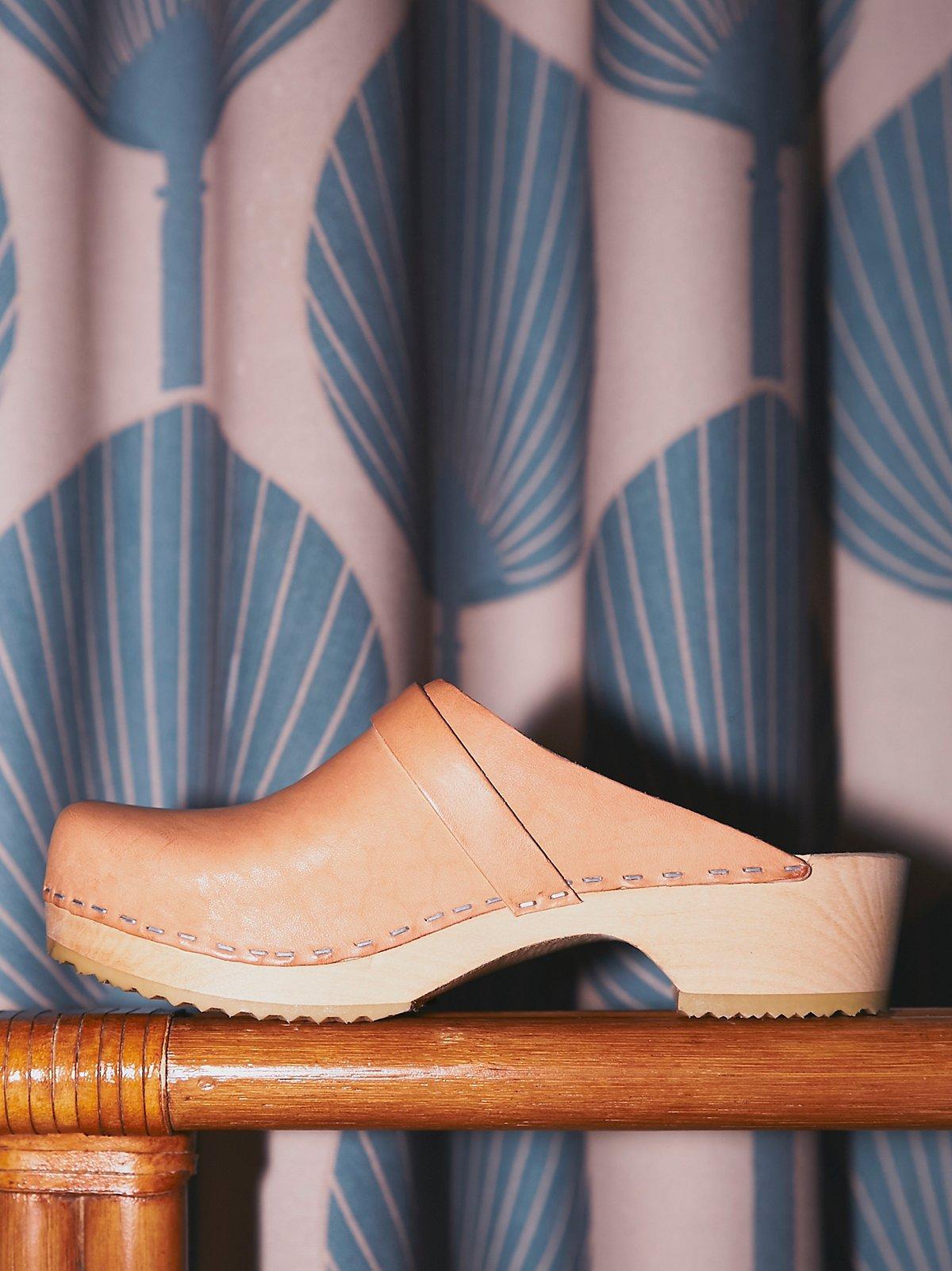 Husband木底鞋