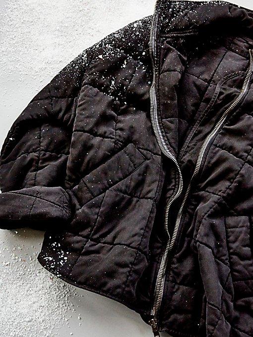 Product Image: 蝙蝠袖绗缝夹克