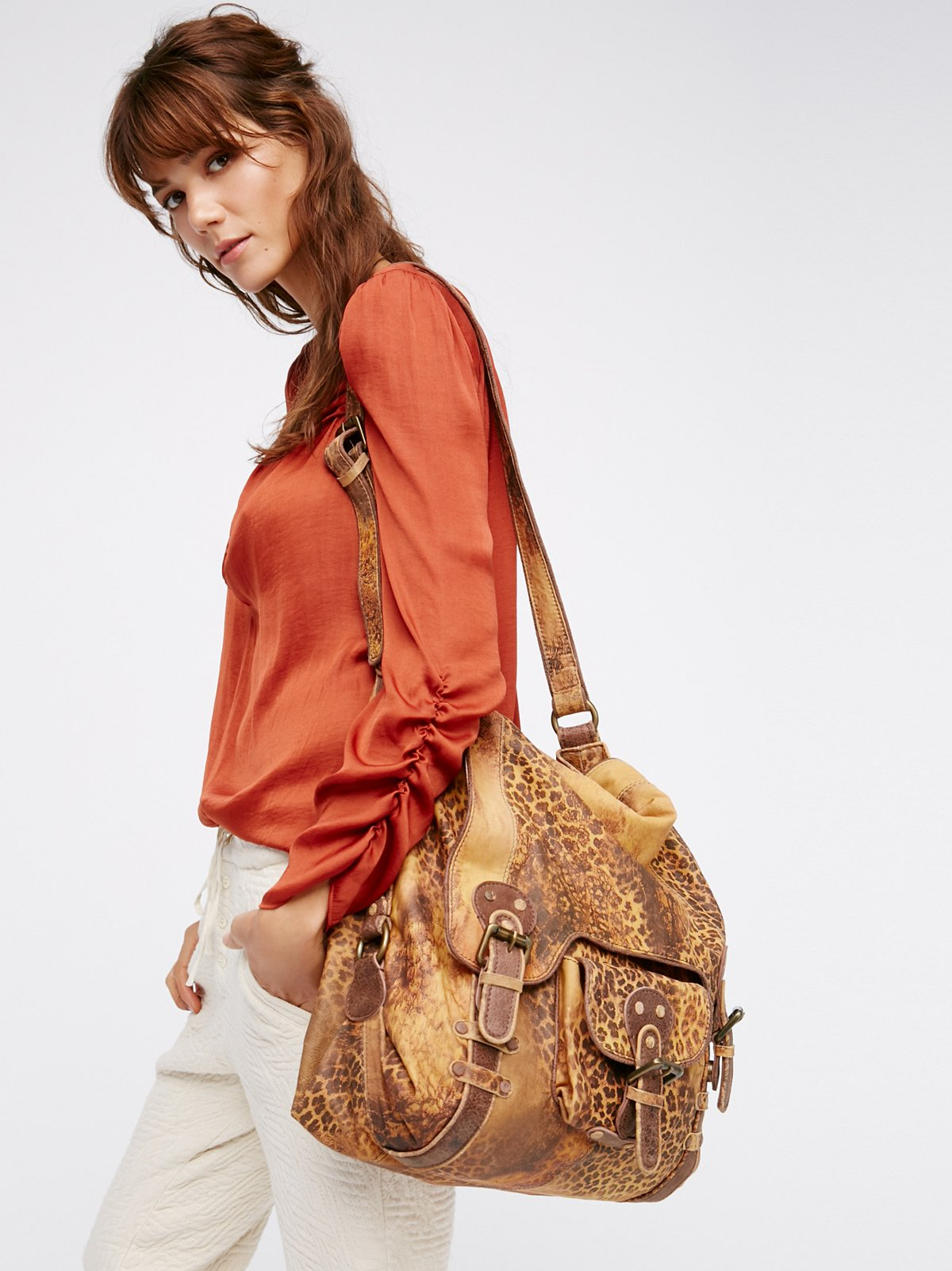 Leopardito Messenger Bag